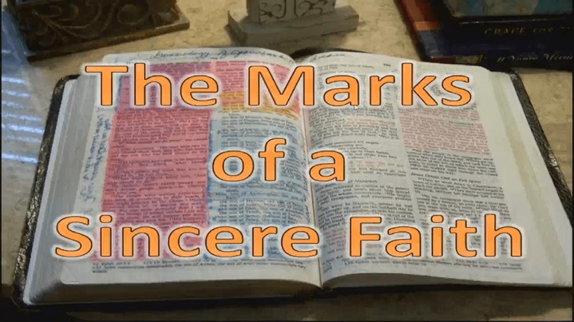 A Sincere Faith