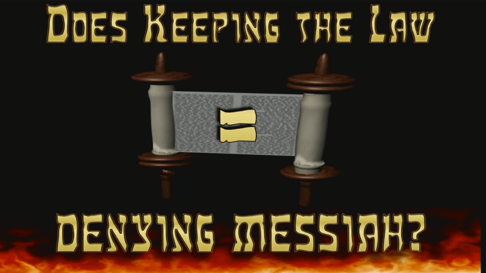 Does Keeping the Law = Denying Messiah?