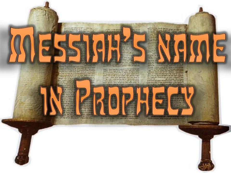 Yahushua's Name Foretold in Zechariah!