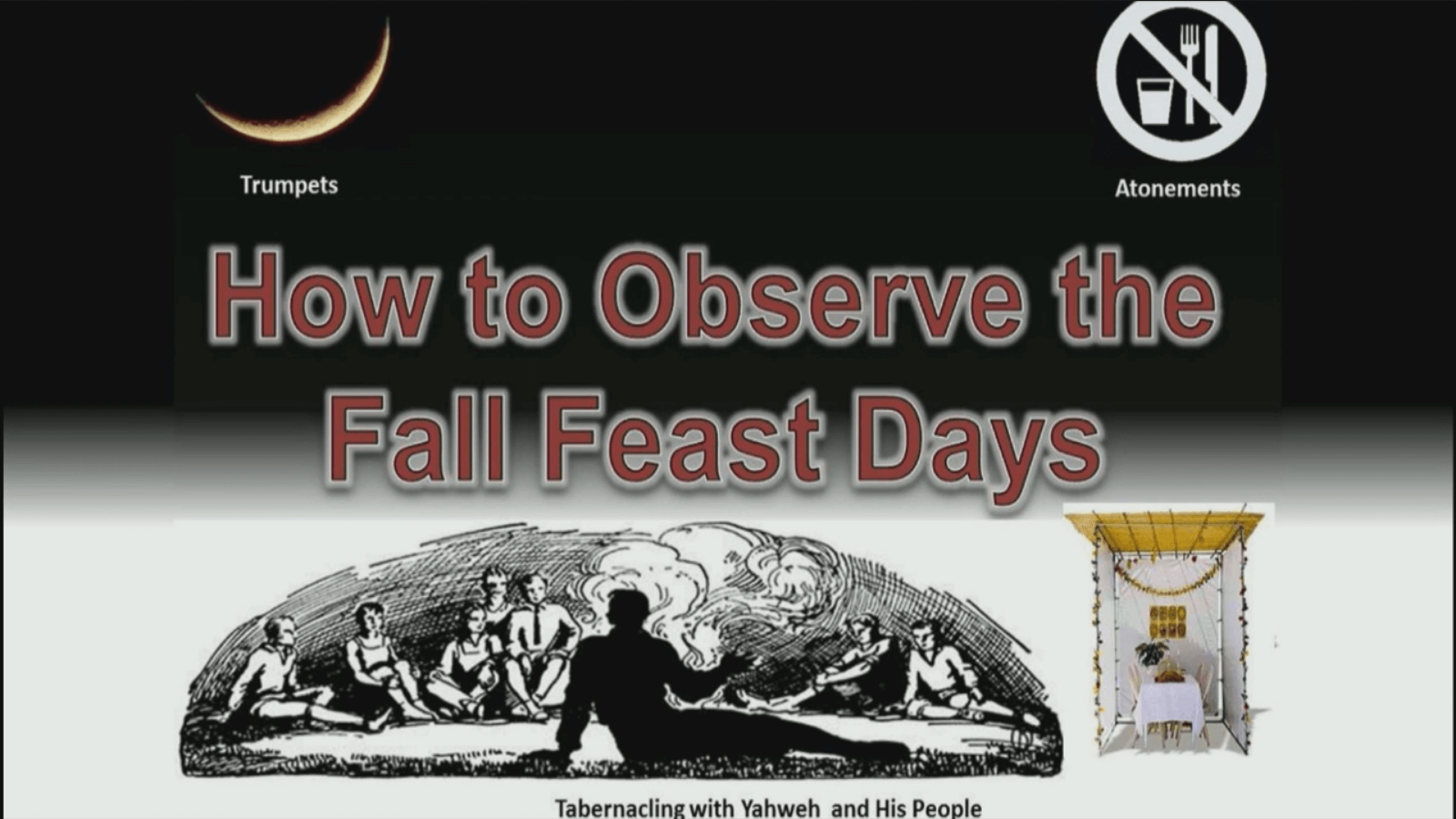 How to Observe the Fall Feast Days (2015)