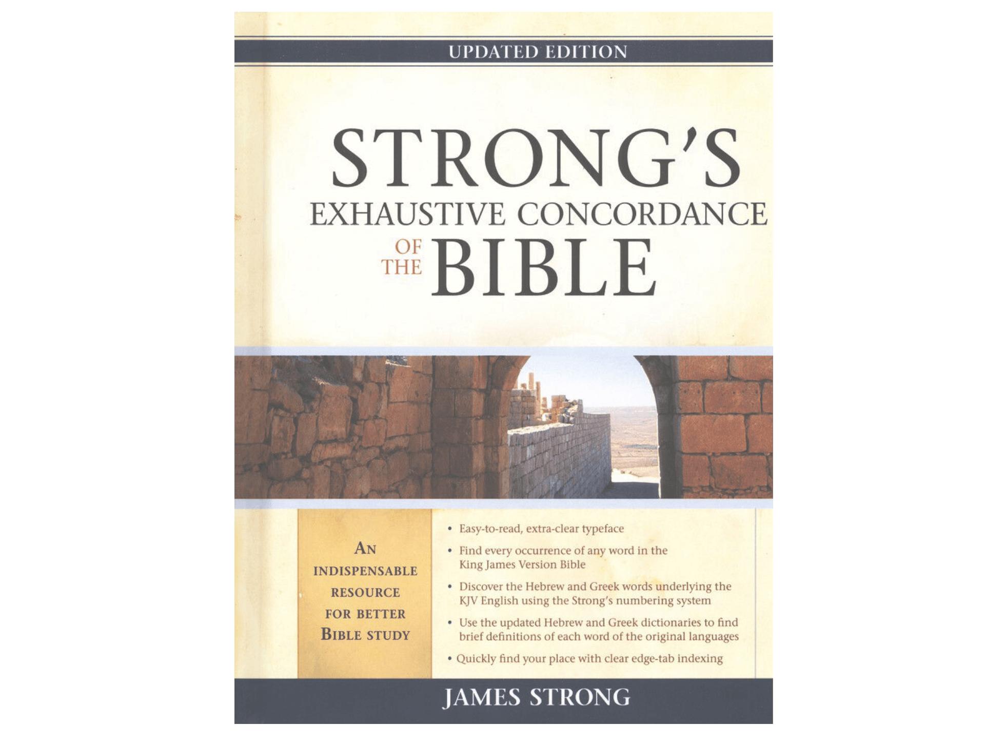 Online Strong's Concordance & Lexicon