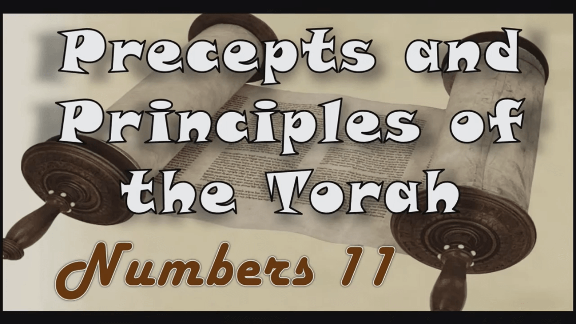 Precepts & Principles of the Torah – Numbers Chapter 11